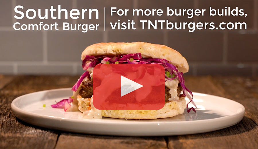 The Southern Comfort Burger